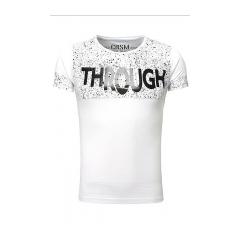 Pánske tričko CRSM - biele