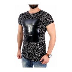 Pánske čierne tričko CRSM T-SHIRT