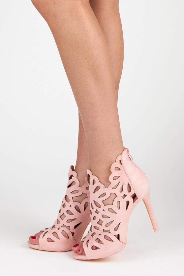 092ecc68dea0 Semišové ružové sandále - 1165-20P