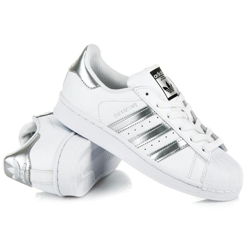Biele dámske tenisky ADIDAS - AQ3091  fee221ea8e