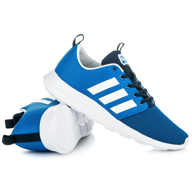 9abe87d6d8c01 Modré tenisky ADIDAS CLOUDFOAM SWIFT RACER - AW4155
