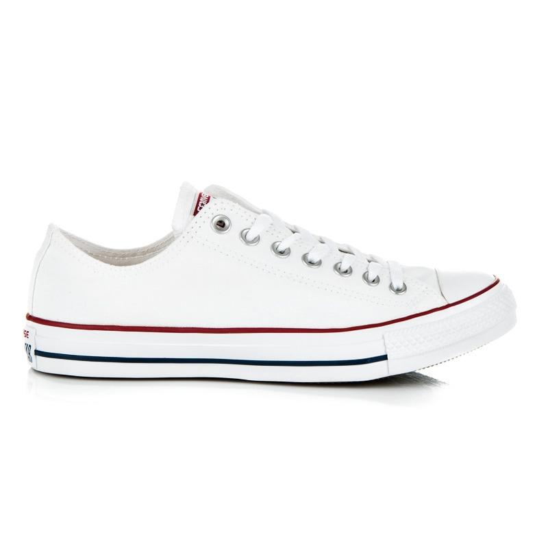 7a5aff958e Biele tenisky CONVERSE CHUCK TAYLOR ALL STAR CORE - M7652
