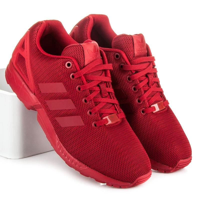 82f4bac968cd Červené tenisky ADIDAS ZX FLUX - S32278