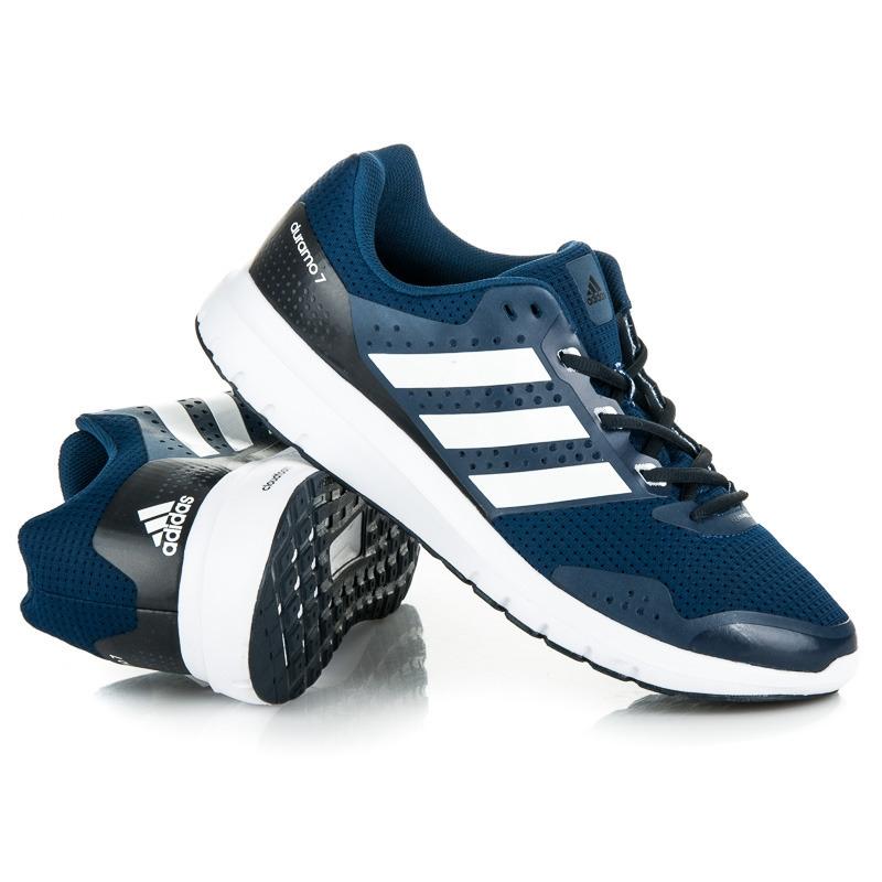 Modré tenisky ADIDAS DURAMO 7 M - BA7386  1a85b2aee7d