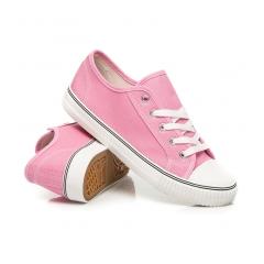 Ružové šnurovacie tenisky - BL64P
