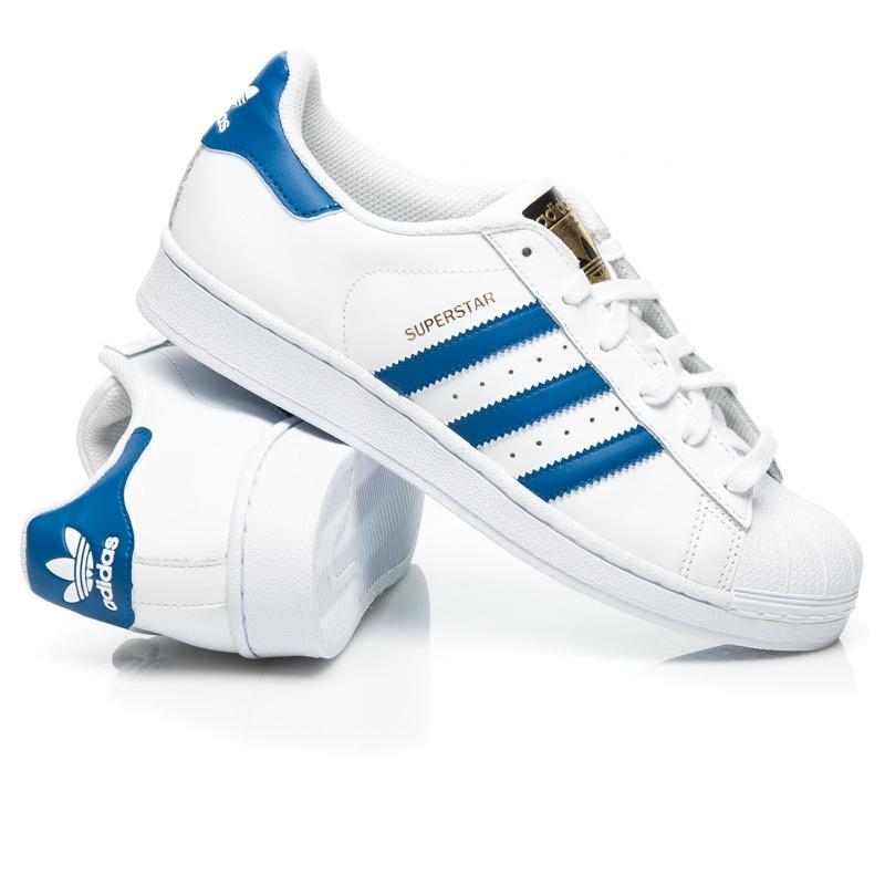 Dámske biele tenisky ADIDAS SUPERSTAR FOUNDATION - S74944  76ae3c6e616