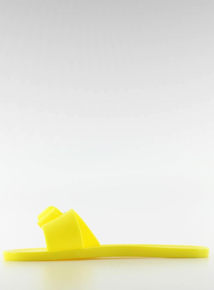 9b510196f5 Jedinečné žlté šľapky s mašličkou - sth1556