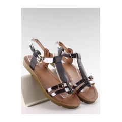 eaf7d5aed613 Pohodlné čierne dámske sandále - JK-60