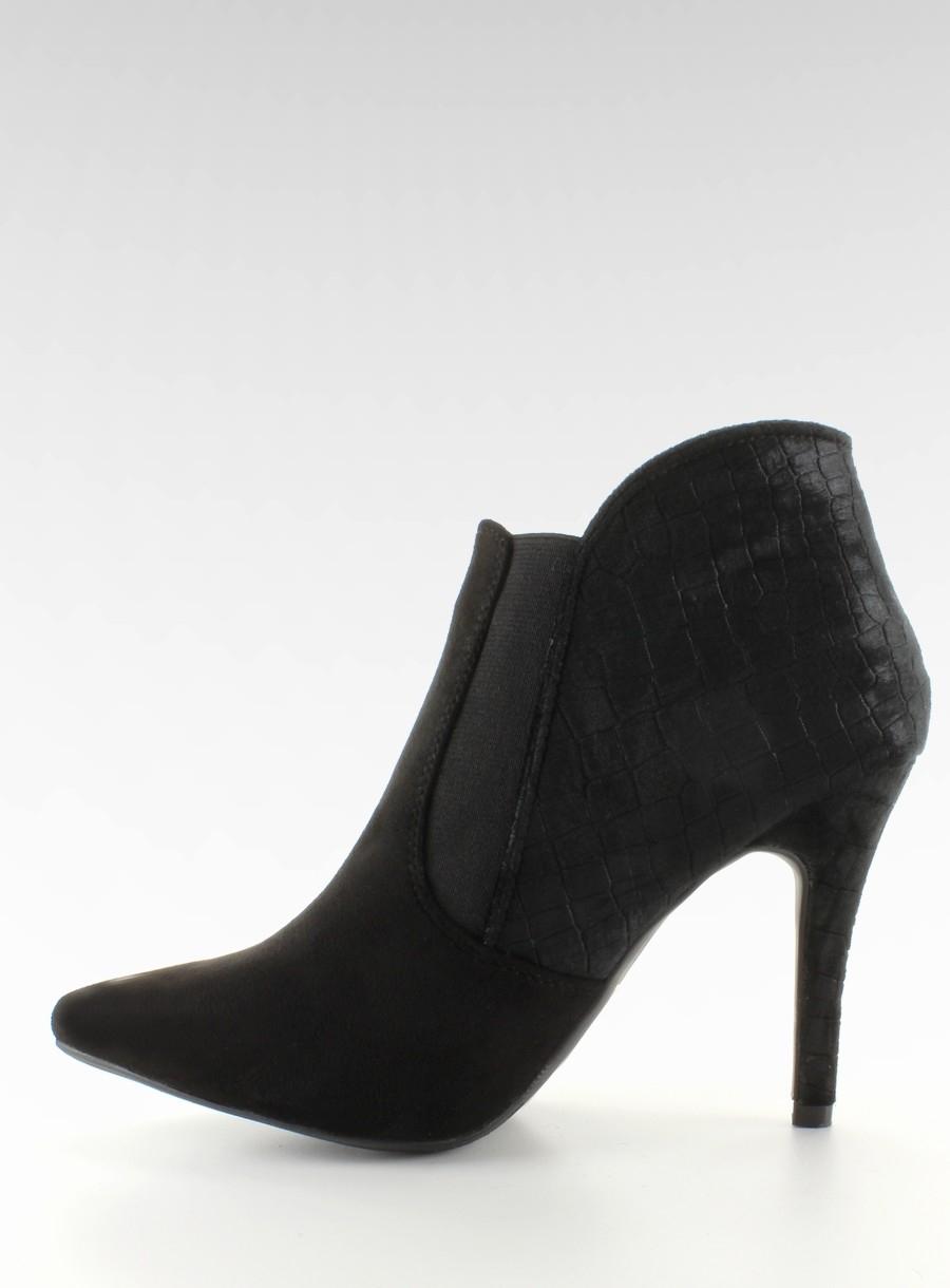 61443cf5437b Elegantné dámske čierne topánky - 1080