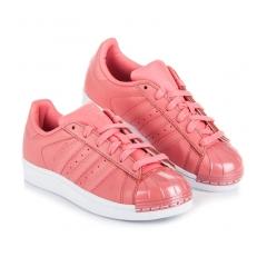 Dámske ružové tenisky ADIDAS SUPERSTAR METAL TOE W - BY9750 c75cb2c56c1