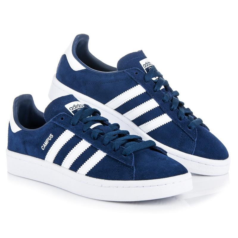Modré tenisky ADIDAS CAMPUS J - BY9579  f3ea2d6ca40