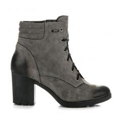 19316f2e3c65e Dámske šedé kožené topánky - 1160/5G