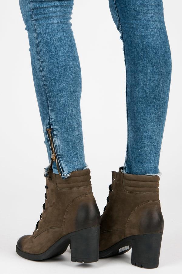 e0cc0c644f Dámske zelené kožené topánky - 1160 5GR