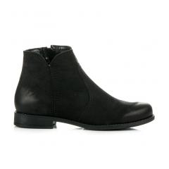 39149a024716d Dámske kožené čierne topánky - 1165/5B