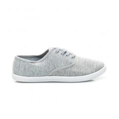 Jednoduché šedé tenisky - BS504G / S1-114P