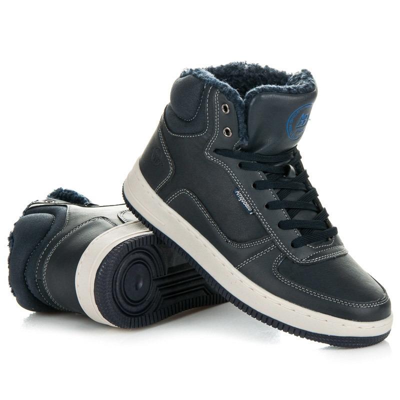 bfc90430fc97 Pánske modré zateplené členkové topánky - A7328N. Výrobca  ARRIGO BELLO ...
