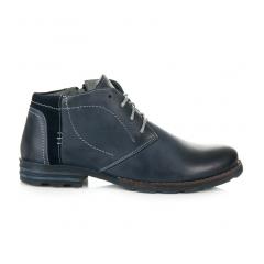 Pánske modré členkové topánky - 270N