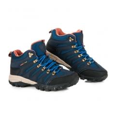 Dámske modré trekingové topánky - FS302N