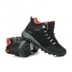 Dámske čierne trekingové topánky - FS302B