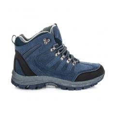 Pánske modré trekingové topánky - FS100N