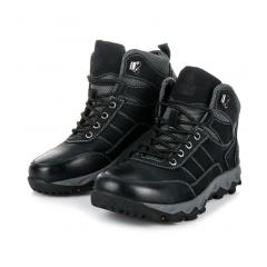 Pánske čierne trekingové topánky - SD96-1B