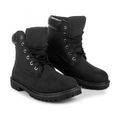 Pánske čierne workery - 800-009NE