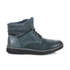 Pánske modré členkové topánky - SD88-13N