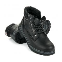 Pánske čierne workery - 608128B