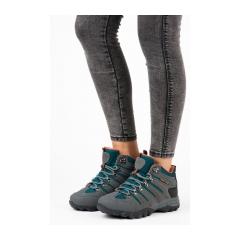 Dámske šedé trekingové topánky - FS302D.G