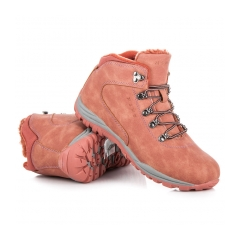 Dámske ružové trekingové topánky - FS300P
