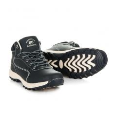 Pánske modré trekingové topánky - A7274N