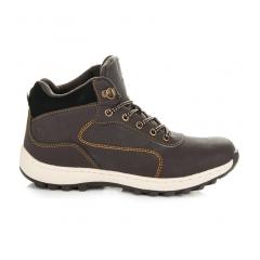 Dámske hnedé trekingové topánky - B7274DK.BR