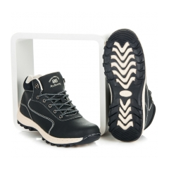 Dámske modré trekingové topánky - B7274N