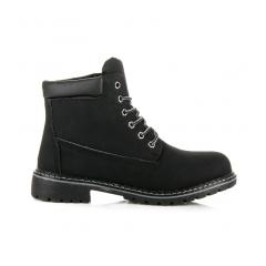 Dámske čierne workery - 58-135B d70bcd286f3