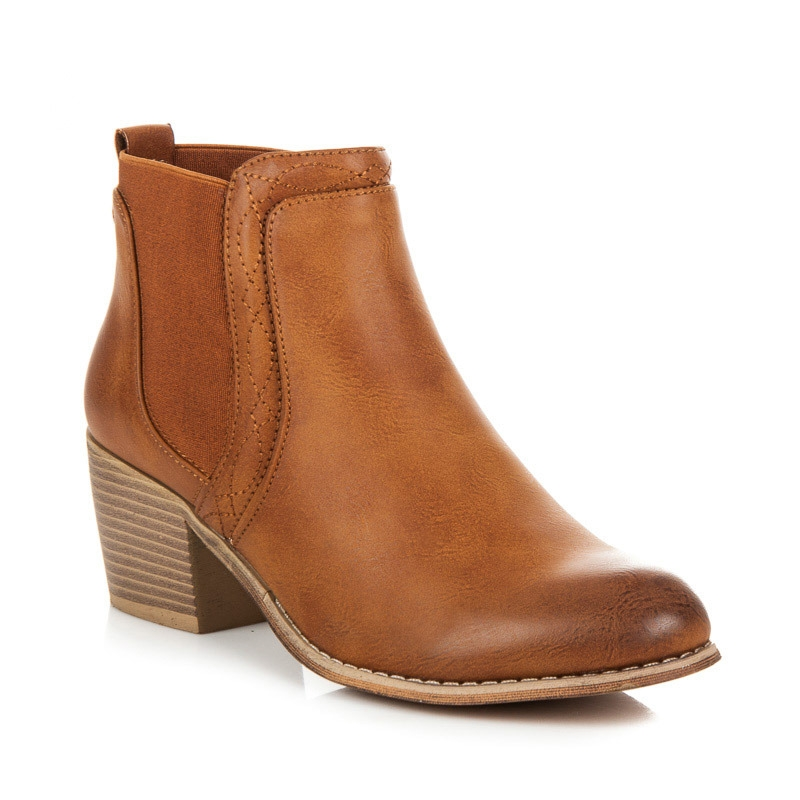 c847413eb4 Dámske hnedé členkové topánky - 1560C