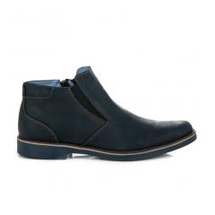 Pánske modré členkové topánky - 035N