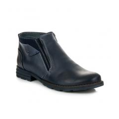 Pánske tmavo modré členkové topánky - 271N