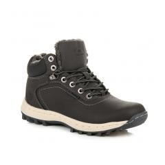 Pánske šedé trekingové topánky - AP7445DK.G