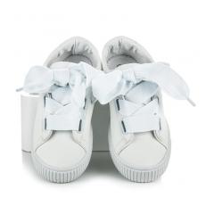 Dámske biele CREEPERS - T031-41W