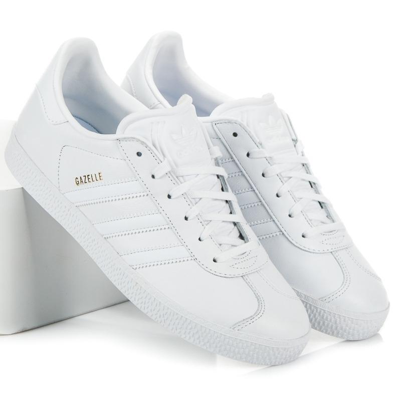 Dámske biele tenisky ADIDAS GAZELLE J - BY9147  cc6d052163