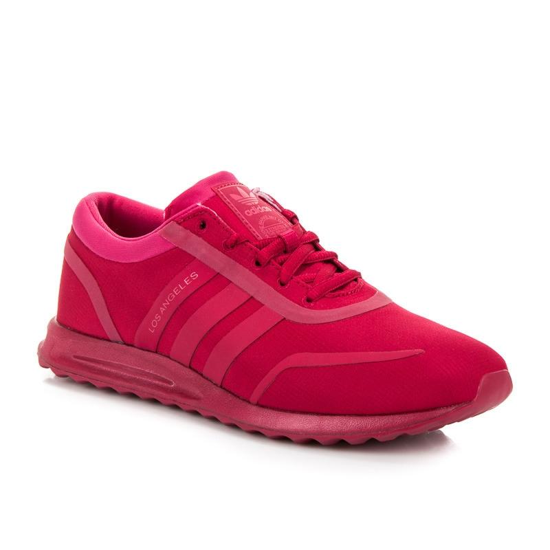 Dámske ružové tenisky ADIDAS LOS ANGELES J - BB0776  d18437a6f8e