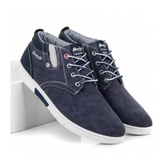 Pánske modré tenisky - 704076N