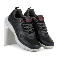 Pánske šedé tenisky - A8014DK.G
