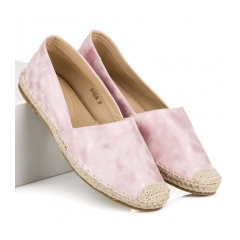 Dámske ružové espadrilky - B741P