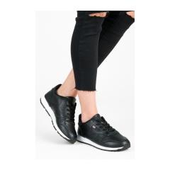 Dámske čierne tenisky - 905-16B