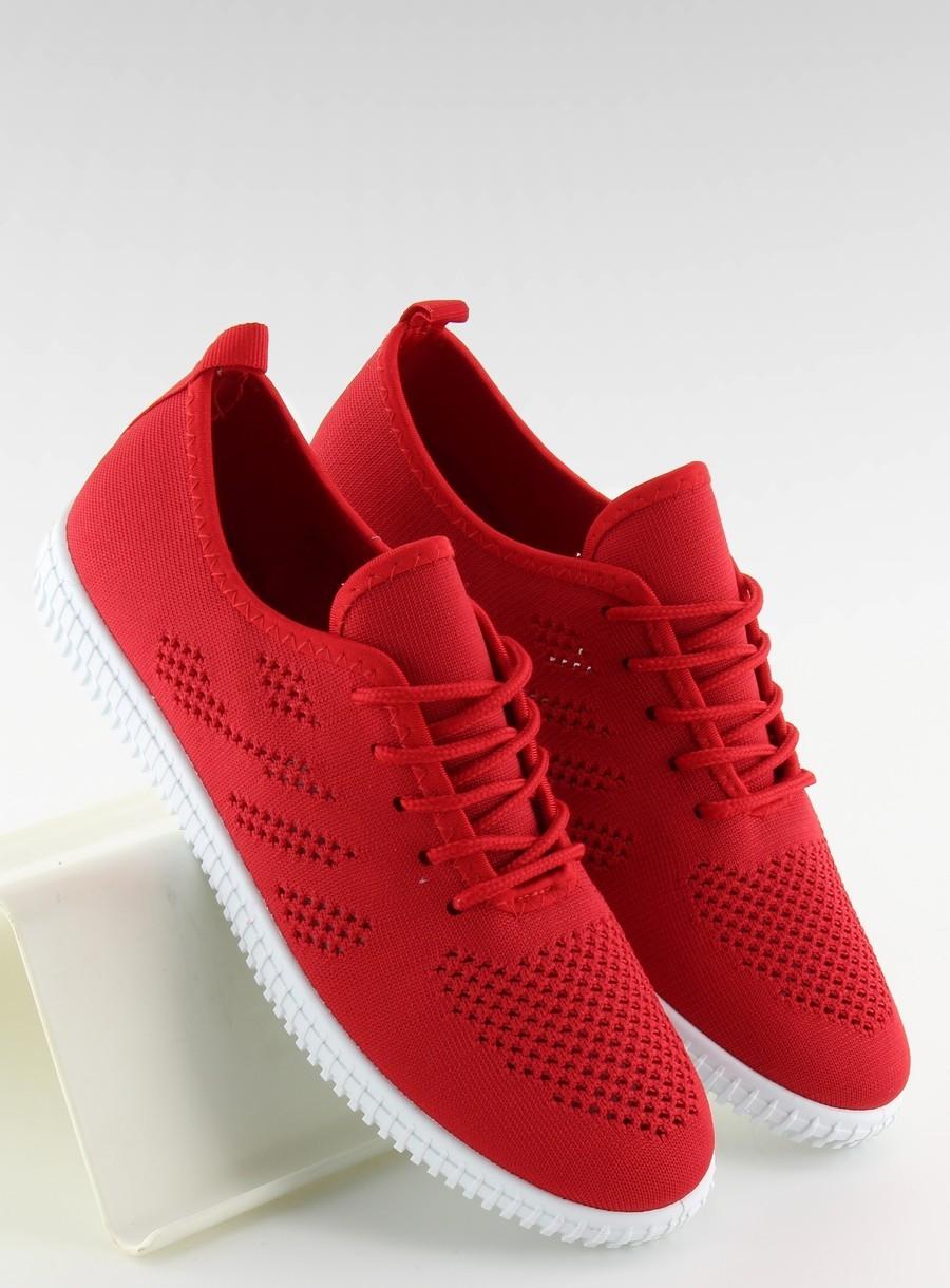 Dámske červené tenisky - LA10P  b52489584b