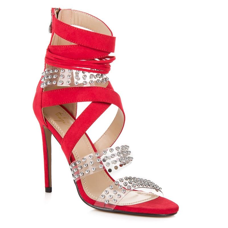 31b5b05b17a88 Dámske sexy červené sandále SERGIO TODZI - HP-97R   dawien.sk