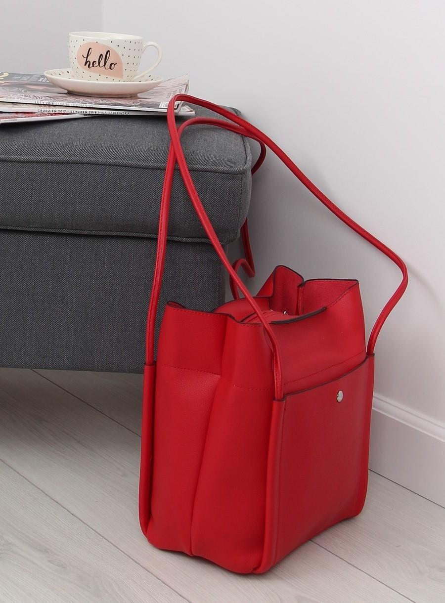 919adcfe23 Dámska červená kabelka