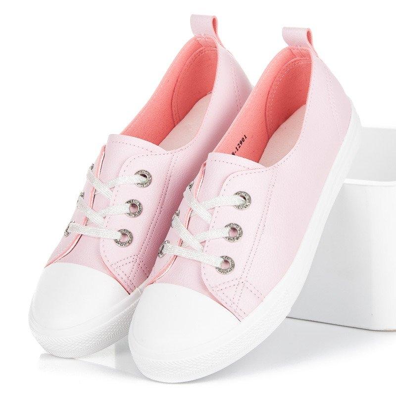 b6c3da56859e8 Dámske ružové tenisky MCKEYLOR - CNY18-12901P   dawien.sk