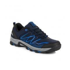 Pánske modré trekingové topánky   - A8178N